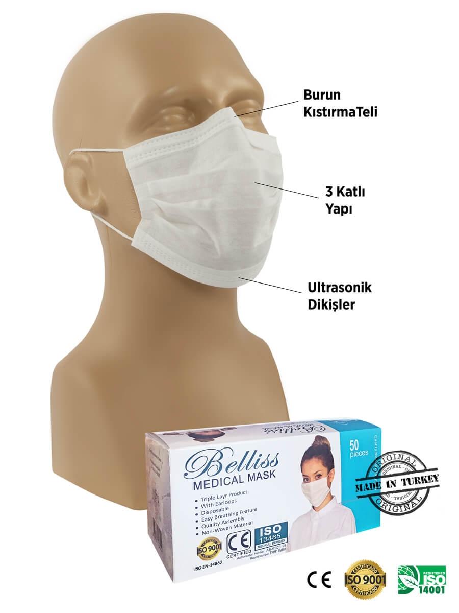 Tek Kullanımlık Maske 1